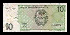 B-D-M Netherlands Antilles 10 Gulden Willemstad Curaçao 2011 Pick 28e SC UNC
