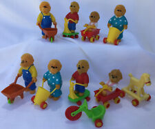 Berenstein Bears Family With Accessories