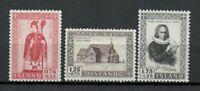 S34159 Island Iceland MNH 1956 Skalholt Church 3v