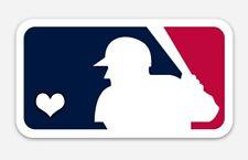LOVE MLB Magnet - Premium Vinyl American and National League baseball