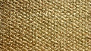 SISAL ECO FRIENDLY WHIPPED MAT CARPET RUG HALL RUNNER 61cm x 497cm RRP £290