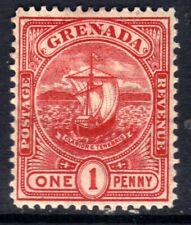 Grenada 1906 KEV11 1d Carmine MM SG 78  ( E1 )