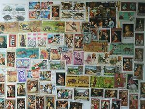 100 Different Burundi Stamp Collection