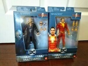 New DC Multiverse Shazam And Dr Sivana Figures FREE SHIPPING