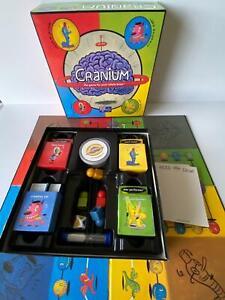 Cranium Board Game - Australian Edition - Contents VGC - 2003 - NO CLAY
