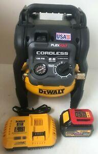 Dewalt DCC2560T1  60V MAX 2.5 Gallon Cordless Air Compressor, L.N