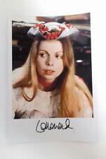"DOCTOR WHO - Female Actor Lalla Ward 6""X4"" Autograph Reprint Photo Colour Pic"