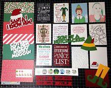 Buddy The Elf Scrapbook Kit- Scrapbook paper -Christmas movie Project Life CUTE