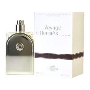 HERMES VOYAGE d'Hermes * 3.3/3.4 oz (100 ml) EDT Spray Refillable NEW & SEALED