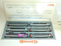BU636-4# Märklin H0/AC 4367 Wagen-Set EuroCity SBB CFF FFS NEM KK, NEUW+OVP