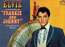 MFD IN CANADA BLACK LABEL MONO LPM 3553 LP ELVIS PRESLEY : FRANKIE AND JOHNNY