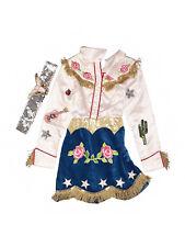 Wishcraft Chasing Fireflies '40s Cowgirl Nashville Dress Belt Costume Size 8