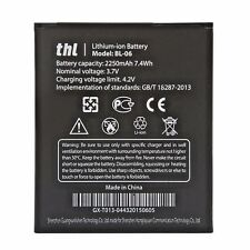 thl Smartphone Battery BL-06 for thl T6 Pro T6s T6c 2250mAh 7.4Wh