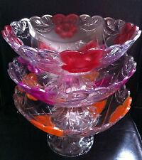 Plastic Floral Serving Dishes