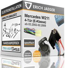 ELEKTROSATZ 13-polig SPEZIFISCH Mercedes-Benz E-Klasse Limousine W211 2002-2009