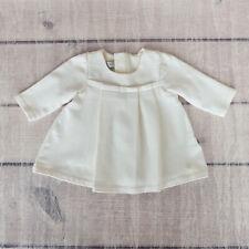 Dior Baby 3 months Girls Beige Ivory Long Sleeve Dress