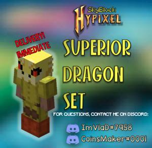 Hypixel Skyblock Superior Dragon Armor | The Best Dragon Armor