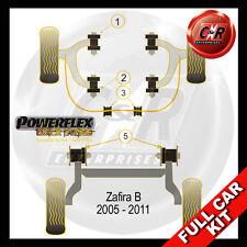 Vauxhall / Opel Zafira B (05-11) Powerflex Black Complete Bush Kit Non 2.0L Cars