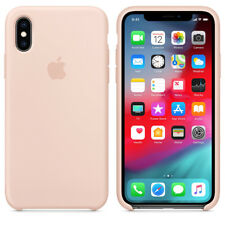 PINK SAND GENIUNE ORIGINAL OFFICIAL Apple Silicone Case iPhone XS
