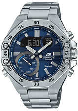 EDIFICE Casio Smartphone Link Stainless Steel Mens Watch ECB10D-2A