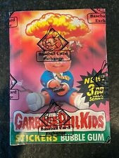 1986 Topps Garbage Pail Kids 3rd Series Box W/ 48 Packs w/25c BBCE Authentic
