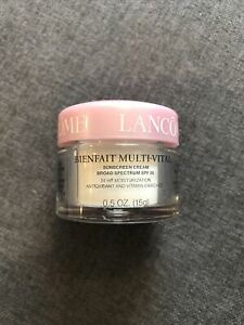 1Lancome Bienfait Multi Vital Sunscreen Cream Spf 30 24 HR Moisturization 0.5oz