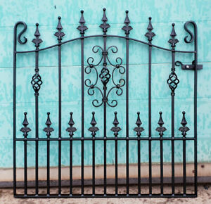 Wrought Iron Metal Garden Gate/Gates -TOP QUALITY - to fit 3ft6 (1067mm) opening