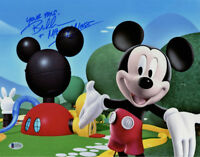 BRET IWAN SIGNED AUTOGRAPHED 11x14 PHOTO VOICE MICKEY MOUSE DISNEY BECKETT BAS