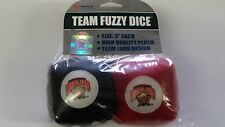 "Maryland Terrapins  3"" Fuzzy Dice - Great for any Car or Truck!  NEW NCAA"