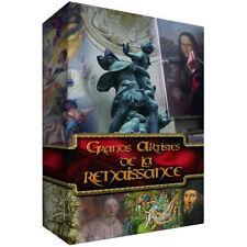 7505// GRANDS ARTISTES DE LA RENAISSANCE COFFRET 4 DVD NEUF