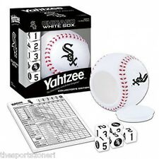 Chicago White Sox Travel Edition Yahtzee Game
