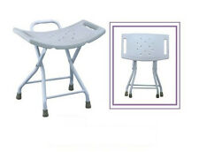 Folding Bathtub Bench Bath Tub Seat Stool Shower Chair Without Back Light Weight