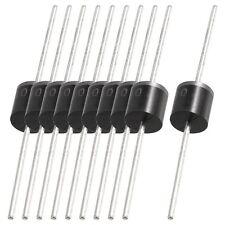 10X10 Stueck geformte Kunststoff-Gehaeuse 1000V 10A Gleichrichterdioden 10A10 GY