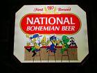 NEW VTG 1985 NATTY BOH NATIONAL BOHEMIAN BAR TOONS IN MOTION LED BEER LIGHT SIGN