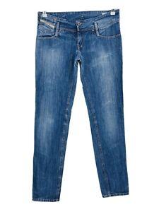 Diesel Enfant Matic J Fille Ado Bleu Coupe Skinny Jean 16 Ans W30 L34