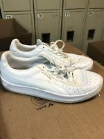 PUMA GV SPECIAL White Leather Sneakers Athletic MensTennis Shoes US Size 11.5 M