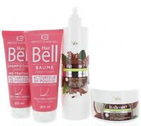 Hyaluronique Coco Beurre de Cacao Shampooing & Masque + Hairbell &