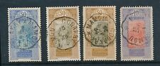 French Guinea Railway Tpo Cancels 4 stamps 1927-36