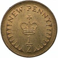 1971-1982 / 1/2 PENNY COIN OF ELIZABETH II.  CHOOSE YOUR DATE!  ONE COIN/BUY! #2