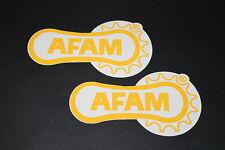 +034 AFAM CHAÎNE Chain pignon bike autocollant sticker décalque Autocollant technique