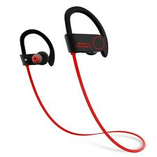 Small Target Bluetooth Headphones Wireless Sport Earphones Mic IPX7 Waterproof