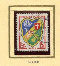 STAMP / TIMBRE FRANCE OBLITERE N° 1195  BLASON D'ALGER