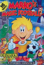 ## Absolut neuwertig: SEGA Mega Drive - Marko´s Magic Football / MD Spiel ##