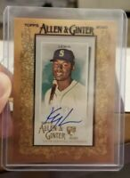 2020 Topps Allen and Ginter Kyle Lewis RC Auto SSP Seattle Mariners Rookie ROY