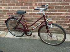 Puch Ladies bike with rack and Sturmey-Archer Gears
