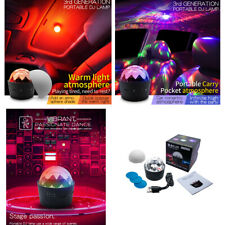 Music Rhythm Sound Activated Car Interior LED Auto DJ Disco Flash Lamp D33-11 AA