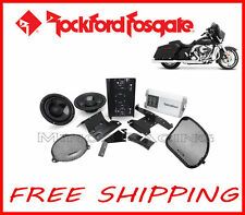 ROCKFORD FOSGATE HARLEY DAVIDSON ROAD GLIDE AMPLIFIER KIT 2015-UP
