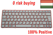 For Sony Vaio SVE11 SVE1111M1E SVE1112M1E SVE1113M1E Keyboard Hungarian Magyar