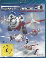 Blu-ray + 3D + Sky Force + Die Feuerwehrhelden + Animation + Kinder ab 6 Jahren