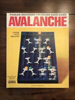 1966 Vintage Parker Brothers AVALANCHE Marble Game - Family Fun Game Night